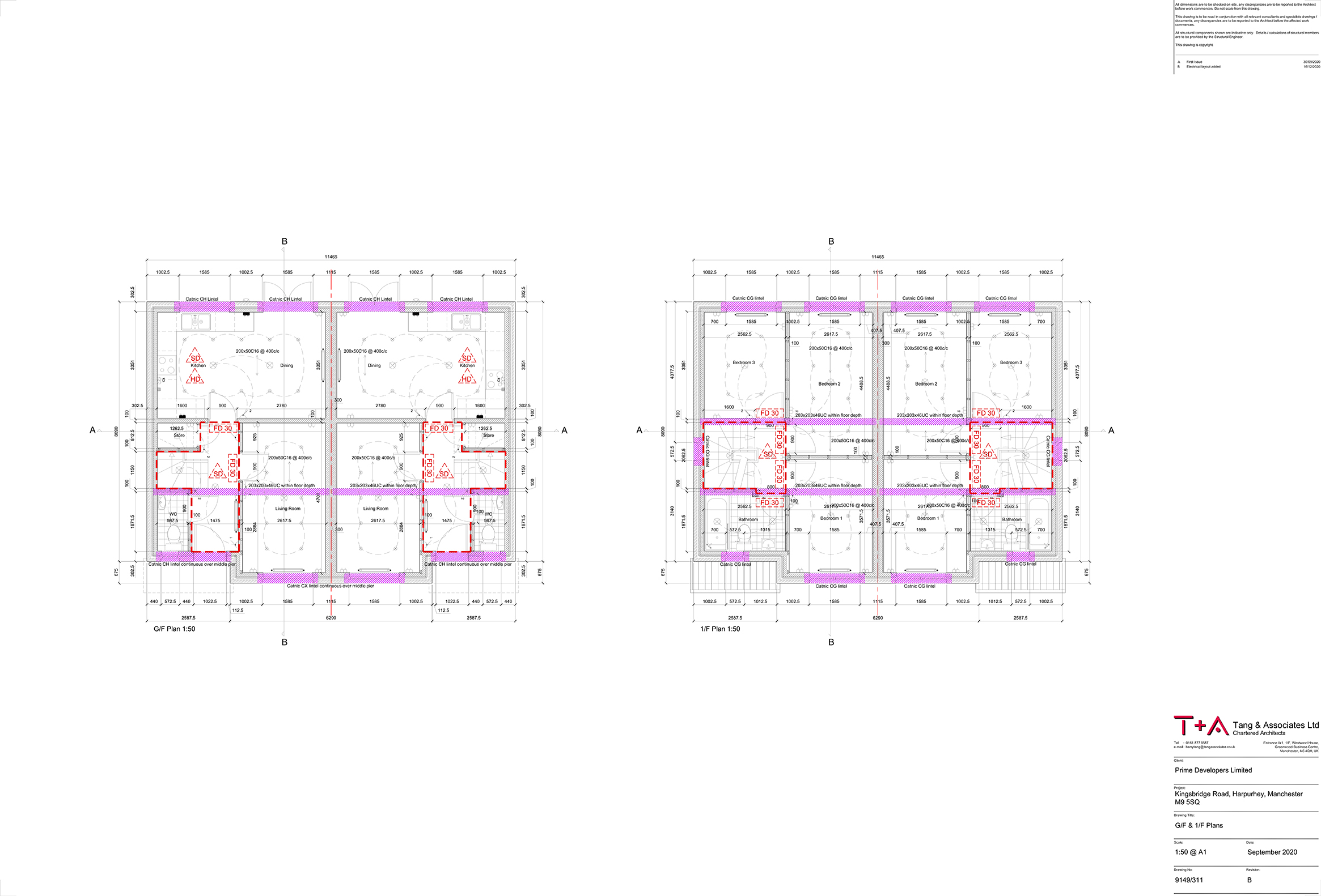 Loft & Roof Floor Plan