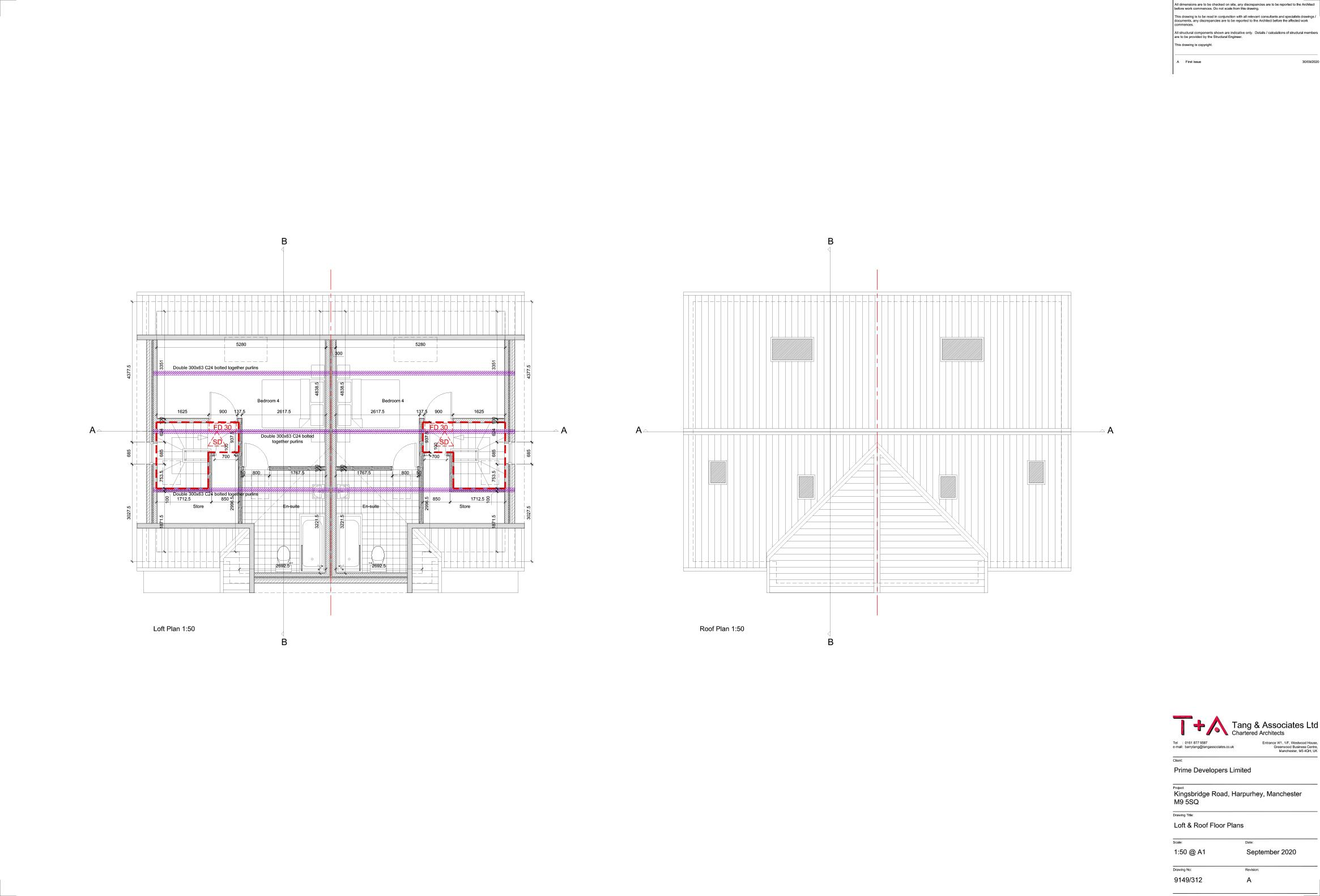 Ground & First Floor Plan